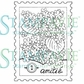 Stampavie Penny Johnson Clear Stamp - A Stamp of Friendship