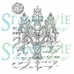 Stampavie Penny Johnson Clear Stamp - Chandelier