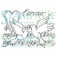 Stampavie Penny Johnson Clear Stamp - Chanson D'amour