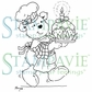 Stampavie Penny Johnson Clear Stamp - Christmas Pudding