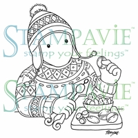 Stampavie Penny Johnson Clear Stamp - Cracking Nuts