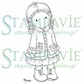 Stampavie Penny Johnson Clear Stamp - Gretchen