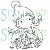 Stampavie Penny Johnson Clear Stamp - Gretchen's Gift
