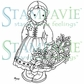 Stampavie Penny Johnson Clear Stamp - Gretchen's Winter Basket