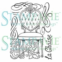 Stampavie Penny Johnson Clear Stamp - La Chaise