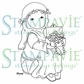 Stampavie Penny Johnson Clear Stamp - Leila 3-1/2""