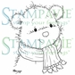 Stampavie Penny Johnson Clear Stamp - Little Winter Bear