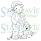 Stampavie Penny Johnson Clear Stamp - Playtime