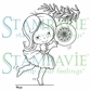 Stampavie Penny Johnson Clear Stamp - Pretty Bauble