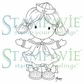 Stampavie Penny Johnson Clear Stamp - Sailor Girl