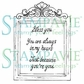Stampavie Penny Johnson Clear Stamp - Shabby Chic