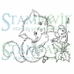 Stampavie Penny Johnson Clear Stamp - Waiting For Christmas