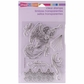 Stampendous Clear Christmas Stamp - Angel Trumpet