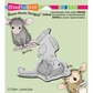 Stampendous House Mouse Cling Rubber Stamp - School Supplies