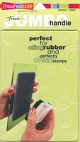 """Stampendous Jumbo Clear Handle Stamp - Block - 5""""x7"""""""