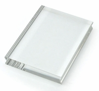 Stampendous Perfectly Clear Stamp Block - Medium Rectangle