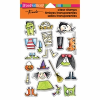 """Stampendous Perfectly Clear Stamps 4""""x6"""" - Costume Stack"""