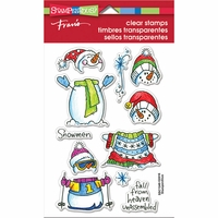 """Stampendous Perfectly Clear Stamps 4""""x6"""" - Winter Stack"""