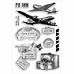 Stampendous Perfectly Clear Stamps - Air Travel