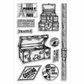 Stampendous Perfectly Clear Stamps - Baggage Claim
