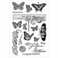 Stampendous Perfectly Clear Stamps - Butterfly Charms