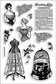 Stampendous Perfectly Clear Stamps - Corset Ladies