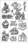 Stampendous Perfectly Clear Stamps - Cowlick Birthday