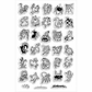 Stampendous Perfectly Clear Stamps - Critter Collection