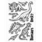 Stampendous Perfectly Clear Stamps - Dino Time