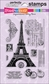 Stampendous Perfectly Clear Stamps - Eiffel Tower
