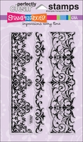 Stampendous Perfectly Clear Stamps - Elegant Borders