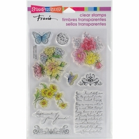 Stampendous Perfectly Clear Stamps - Floral Charms
