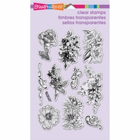 Stampendous Perfectly Clear Stamps - Frantage Flowers