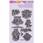Stampendous Perfectly Clear Stamps - Hope Verses