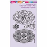 Stampendous Perfectly Clear Stamps - Lacy Ovals