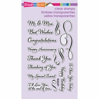 Stampendous Perfectly Clear Stamps - Loving Messages