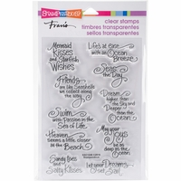 Stampendous Perfectly Clear Stamps - Ocean Wisdom