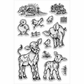 Stampendous Perfectly Clear Stamps - On The Farm