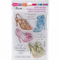 Stampendous Perfectly Clear Stamps - Shoe Sense