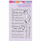 Stampendous Perfectly Clear Stamps - Spanish Loving Messages