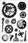 Stampendous Perfectly Clear Stamps - Steampunk Gears