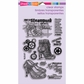 Stampendous Perfectly Clear Stamps - Steampunk Shoes