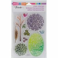 Stampendous Perfectly Clear Stamps - Tree Parts
