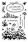 Stampendous Perfectly Clear Stamps - Wildflower Sprigs