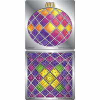 Stampendous Stencil Duo w/Pen & Cards - Ornament