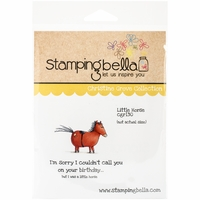 Stamping Bella Cling Rubber Stamp - A Little Horse