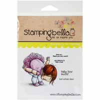 Stamping Bella Cling Rubber Stamp - Baby Bow
