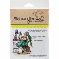 Stamping Bella Cling Rubber Stamp - Blanche Fussy Cutting