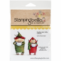 Stamping Bella Cling Rubber Stamp - Buddy & Jolly