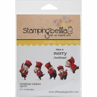 Stamping Bella Cling Rubber Stamp - Christmas Soldiers